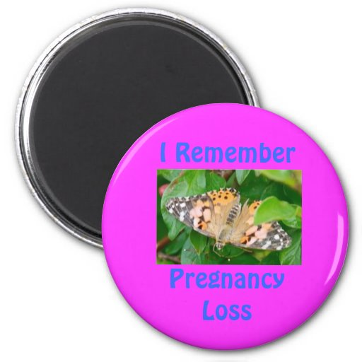 DSC_2340-1-1, I RememberPregnancy Loss 2 Inch Round Magnet