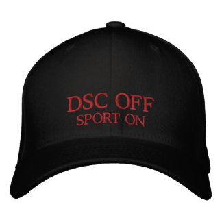 DSC Off - Sport On Hat Embroidered Hats