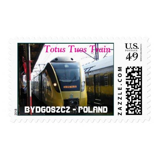 DSCF0001-1, Totus Tuos Train, BYDGOSZCZ - POLAND Postage