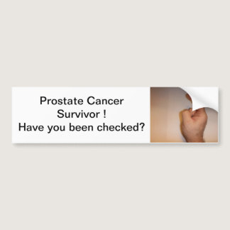 DSCF0084, Prostate Cancer Survivor Have you bee... Bumper Sticker