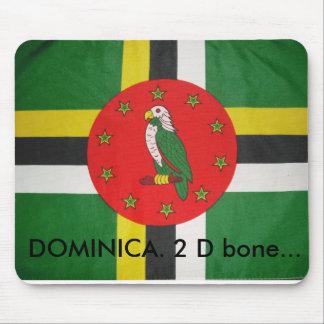DSCF0154(1), DOMINICA. 2 D bone... Mouse Pad