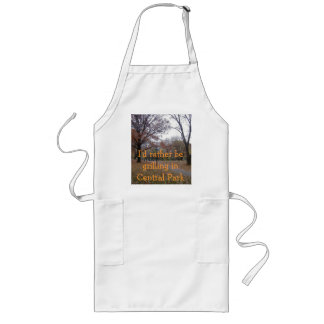 DSCF0178, I'd rather be grilling in Central Park Long Apron