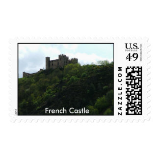 DSCF0200, French Castle Stamp