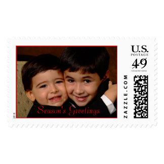 DSCF0942HC, Season's Greetings Postage Stamp