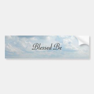 DSCF5960, Blessed Be Bumper Sticker