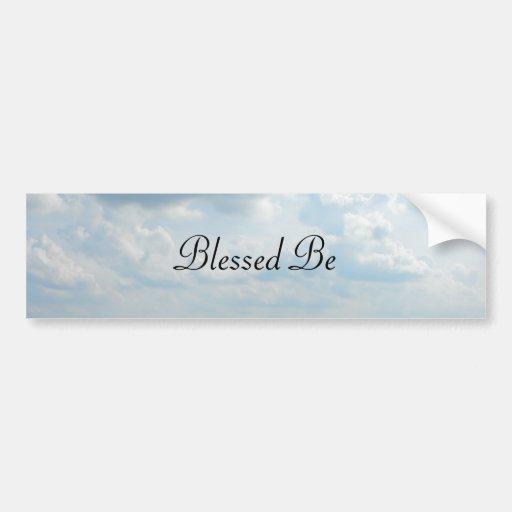 DSCF5960, Blessed Be Car Bumper Sticker