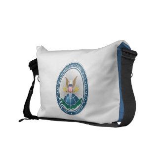 DSCMO Messenger Bag Light Blue with DSCMO Seal