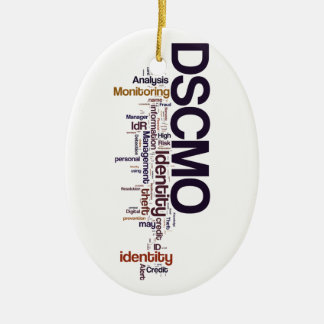 DSCMO Oval Ornament