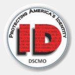 DSCMO - Protección de la identificación - pegatina