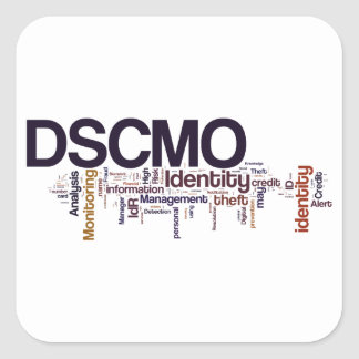 DSCMO Square Sticker