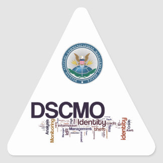 DSCMO Triangle Decal Triangle Sticker