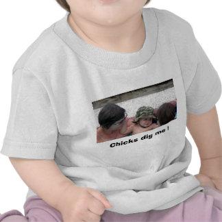 DSCN0379, Chicks dig me ! Tshirts