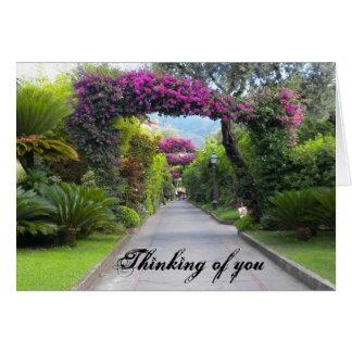 DSCN0795, pensando en usted Tarjeta De Felicitación