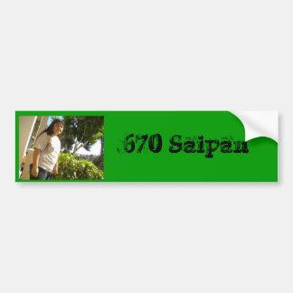 DSCN0805, 670 Saipan Car Bumper Sticker