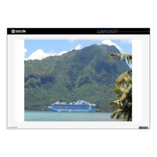 "DSCN0819.JPG Sapphire Princess Cruise Ship 17"" Laptop Skins"