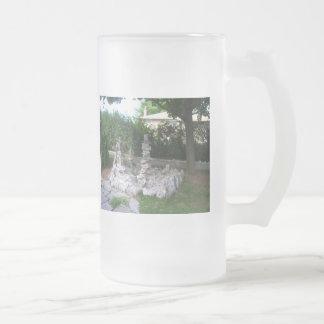 DSCN0844 FROSTED GLASS BEER MUG