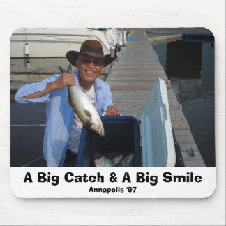 DSCN1535, A Big Catch & A Big Smile, Annapolis '07 Mouse Pad