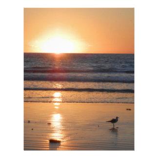 DSCN2716.JPG Sunrise at Cocoa Beach, Florida Personalized Letterhead