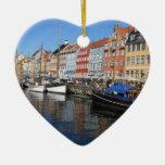 DSCN2826.JPG Nyhavn, Copenhague Adorno Navideño De Cerámica En Forma De Corazón