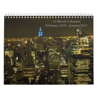 DSCN3062, 12 Month Calendar February 2010 - Jan...
