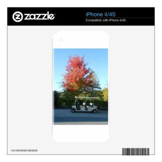 DSCN3942.JPG  Golf Cart at Big Canoe iPhone 4 Decals