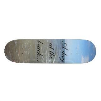 DSCN6288, A day at the beach... Skateboard Deck