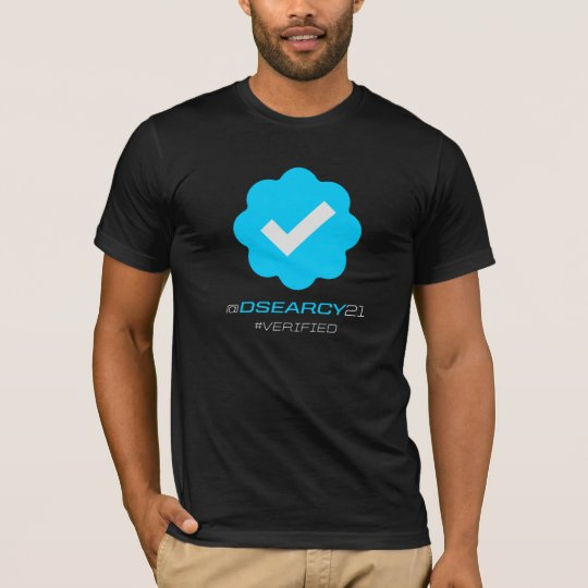 @DSearcy21 - Verified - Black T-Shirt
