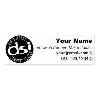 DSI Performer Business Card