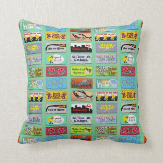 DSineR Labels Pillow