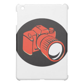 DSLR digital camera front retro iPad Mini Cover