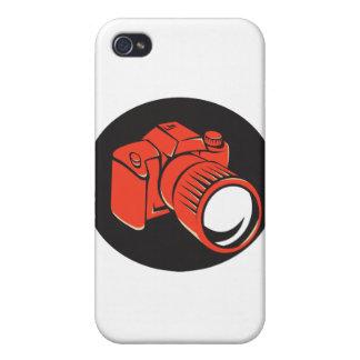 DSLR digital camera front retro iPhone 4/4S Cases