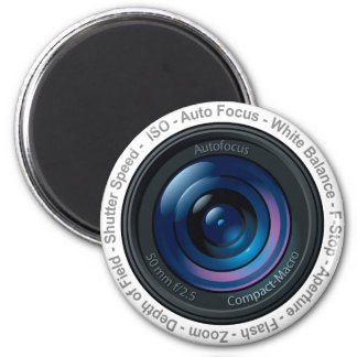 DSLR Feature 2 Inch Round Magnet