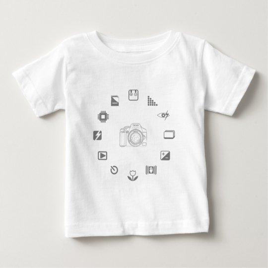 DSLR Feature Baby T-Shirt