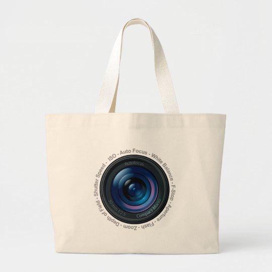 DSLR Feature Large Tote Bag
