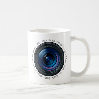 DSLR Feature Classic White Coffee Mug