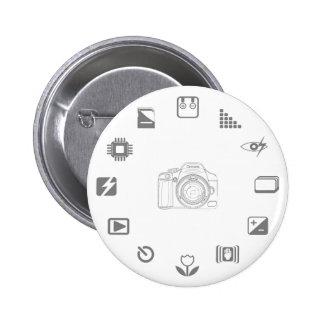 DSLR Feature Pinback Button