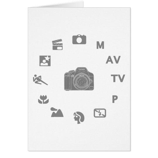 DSLR Mode Card