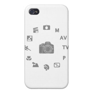 DSLR Mode iPhone 4/4S Cases