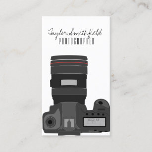 DSLR photography business card