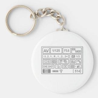DSLR Setting Keychain