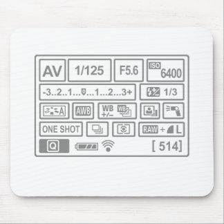 DSLR Setting Mousepads