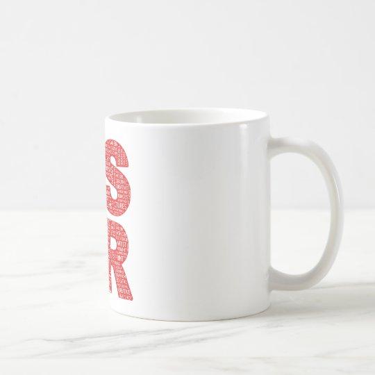 DSLR Type Typo Text Coffee Mug