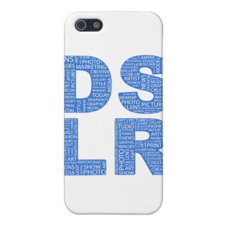DSLR Type Typo Text iPhone 5 Cover