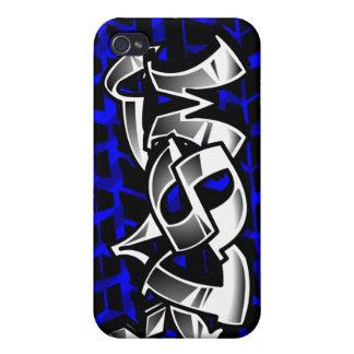 DSM Eclipse Talon 4g63 Blue  iPhone 4 Cases