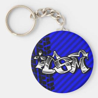 DSM Eclipse Talon 4g63 Blue Keychain