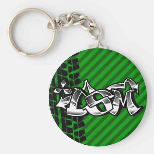 DSM Eclipse Talon 4g63 Green Keychain Zazzle