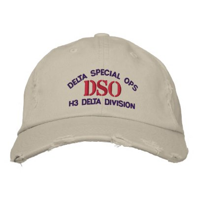 DSO Halo Delta Division Hat Embroidered Baseball Caps