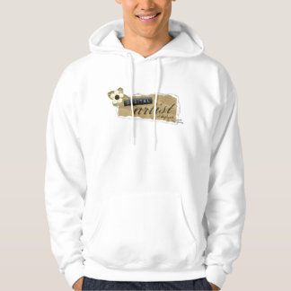 DST Torn Paper Plus Size Hoodie