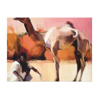 dsu and Said Rann of Kutch 1996 Canvas Print