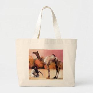 dsu and Said Rann of Kutch 1996 Large Tote Bag